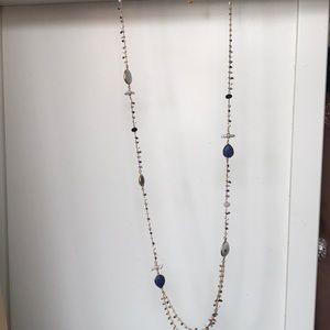 Gas Bijoux beaded gold chain necklace